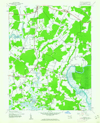Download a high-resolution, GPS-compatible USGS topo map for Kingston, MD (1962 edition)