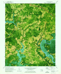 Download a high-resolution, GPS-compatible USGS topo map for Kingston, MD (1975 edition)