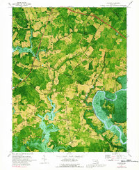 Download a high-resolution, GPS-compatible USGS topo map for Kingston, MD (1991 edition)