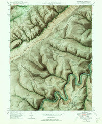 Download a high-resolution, GPS-compatible USGS topo map for Kitzmiller, MD (1966 edition)