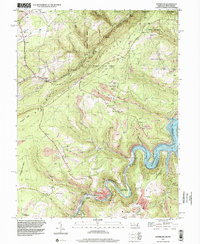 Download a high-resolution, GPS-compatible USGS topo map for Kitzmiller, MD (2001 edition)