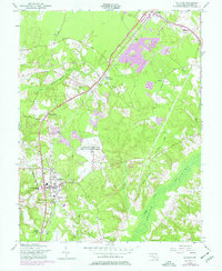 Download a high-resolution, GPS-compatible USGS topo map for La Plata, MD (1977 edition)