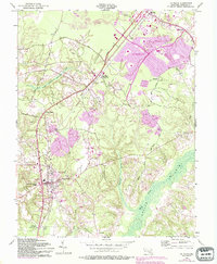 Download a high-resolution, GPS-compatible USGS topo map for La Plata, MD (1993 edition)