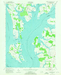 Download a high-resolution, GPS-compatible USGS topo map for Langford Creek, MD (1971 edition)