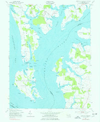 Download a high-resolution, GPS-compatible USGS topo map for Langford Creek, MD (1977 edition)