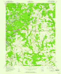 Download a high-resolution, GPS-compatible USGS topo map for Lanham, MD (1958 edition)