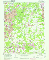 Download a high-resolution, GPS-compatible USGS topo map for Lanham, MD (1979 edition)