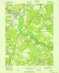 Download a high-resolution, GPS-compatible USGS topo map for Laurel, MD (1951 edition)