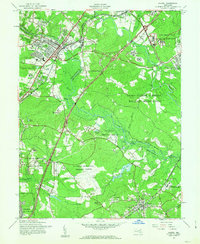 Download a high-resolution, GPS-compatible USGS topo map for Laurel, MD (1963 edition)