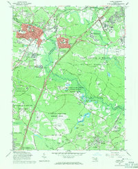 Download a high-resolution, GPS-compatible USGS topo map for Laurel, MD (1971 edition)