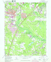 Download a high-resolution, GPS-compatible USGS topo map for Laurel, MD (1979 edition)