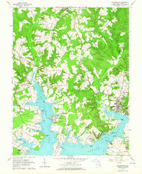 Download a high-resolution, GPS-compatible USGS topo map for Leonardtown, MD (1964 edition)