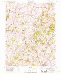Download a high-resolution, GPS-compatible USGS topo map for Libertytown, MD (1970 edition)