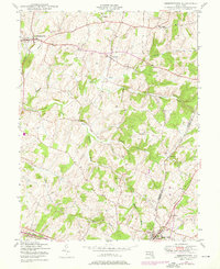 Download a high-resolution, GPS-compatible USGS topo map for Libertytown, MD (1976 edition)