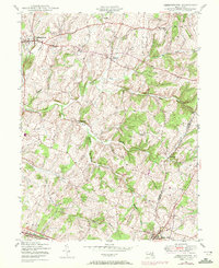 Download a high-resolution, GPS-compatible USGS topo map for Libertytown, MD (1972 edition)