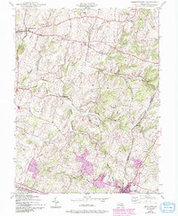 Download a high-resolution, GPS-compatible USGS topo map for Libertytown, MD (1994 edition)