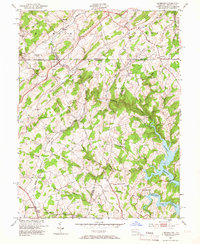 Download a high-resolution, GPS-compatible USGS topo map for Lineboro, MD (1966 edition)