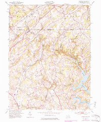 Download a high-resolution, GPS-compatible USGS topo map for Lineboro, MD (1984 edition)