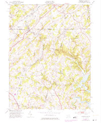 Download a high-resolution, GPS-compatible USGS topo map for Lineboro, MD (1975 edition)