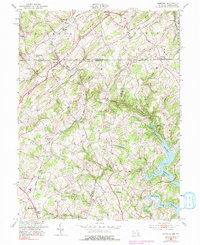 Download a high-resolution, GPS-compatible USGS topo map for Lineboro, MD (1991 edition)