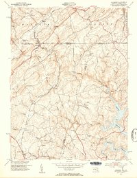 Download a high-resolution, GPS-compatible USGS topo map for Lineboro, MD (1954 edition)