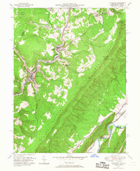 Download a high-resolution, GPS-compatible USGS topo map for Lonaconing, MD (1968 edition)