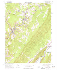 Download a high-resolution, GPS-compatible USGS topo map for Lonaconing, MD (1975 edition)