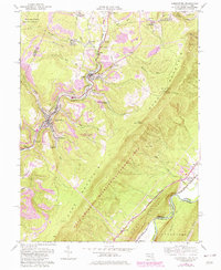 Download a high-resolution, GPS-compatible USGS topo map for Lonaconing, MD (1982 edition)