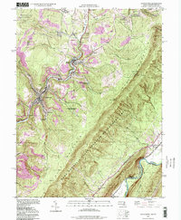 Download a high-resolution, GPS-compatible USGS topo map for Lonaconing, MD (1999 edition)