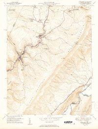Download a high-resolution, GPS-compatible USGS topo map for Lonaconing, MD (1951 edition)