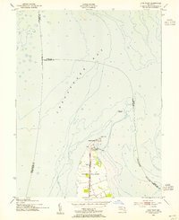 Download a high-resolution, GPS-compatible USGS topo map for Love Point, MD (1955 edition)