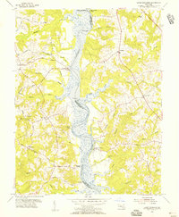 Download a high-resolution, GPS-compatible USGS topo map for Lower Marlboro, MD (1956 edition)