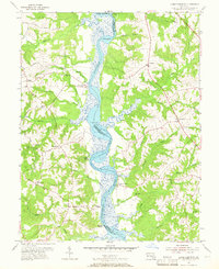 Download a high-resolution, GPS-compatible USGS topo map for Lower Marlboro, MD (1966 edition)