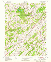 Download a high-resolution, GPS-compatible USGS topo map for Manchester, MD (1966 edition)