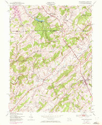 Download a high-resolution, GPS-compatible USGS topo map for Manchester, MD (1972 edition)