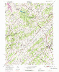 Download a high-resolution, GPS-compatible USGS topo map for Manchester, MD (1988 edition)