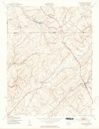 Download a high-resolution, GPS-compatible USGS topo map for Manchester, MD (1954 edition)