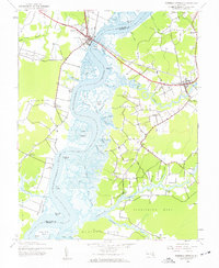 Download a high-resolution, GPS-compatible USGS topo map for Mardela Springs, MD (1962 edition)