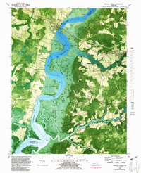 Download a high-resolution, GPS-compatible USGS topo map for Mardela Springs, MD (1983 edition)