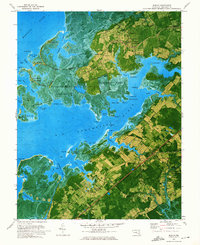 Download a high-resolution, GPS-compatible USGS topo map for Marion, MD (1975 edition)