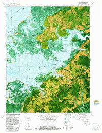 Download a high-resolution, GPS-compatible USGS topo map for Marion, MD (1987 edition)