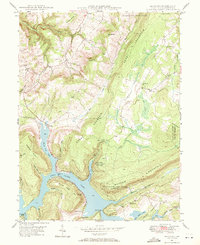 Download a high-resolution, GPS-compatible USGS topo map for McHenry, MD (1971 edition)