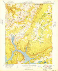 Download a high-resolution, GPS-compatible USGS topo map for McHenry, MD (1949 edition)