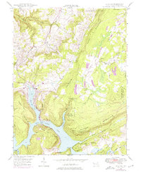 Download a high-resolution, GPS-compatible USGS topo map for McHenry, MD (1975 edition)