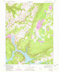 Download a high-resolution, GPS-compatible USGS topo map for McHenry, MD (1982 edition)