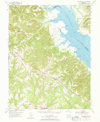 Download a high-resolution, GPS-compatible USGS topo map for Mechanicsville, MD (1970 edition)