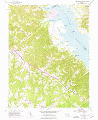 Download a high-resolution, GPS-compatible USGS topo map for Mechanicsville, MD (1976 edition)