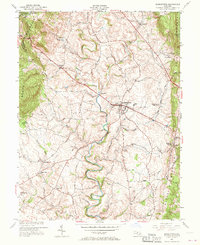 Download a high-resolution, GPS-compatible USGS topo map for Middletown, MD (1970 edition)