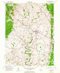 Download a high-resolution, GPS-compatible USGS topo map for Middletown, MD (1964 edition)