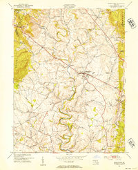 Download a high-resolution, GPS-compatible USGS topo map for Middletown, MD (1954 edition)